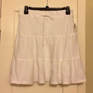 NWT Caslon Linen Skirt